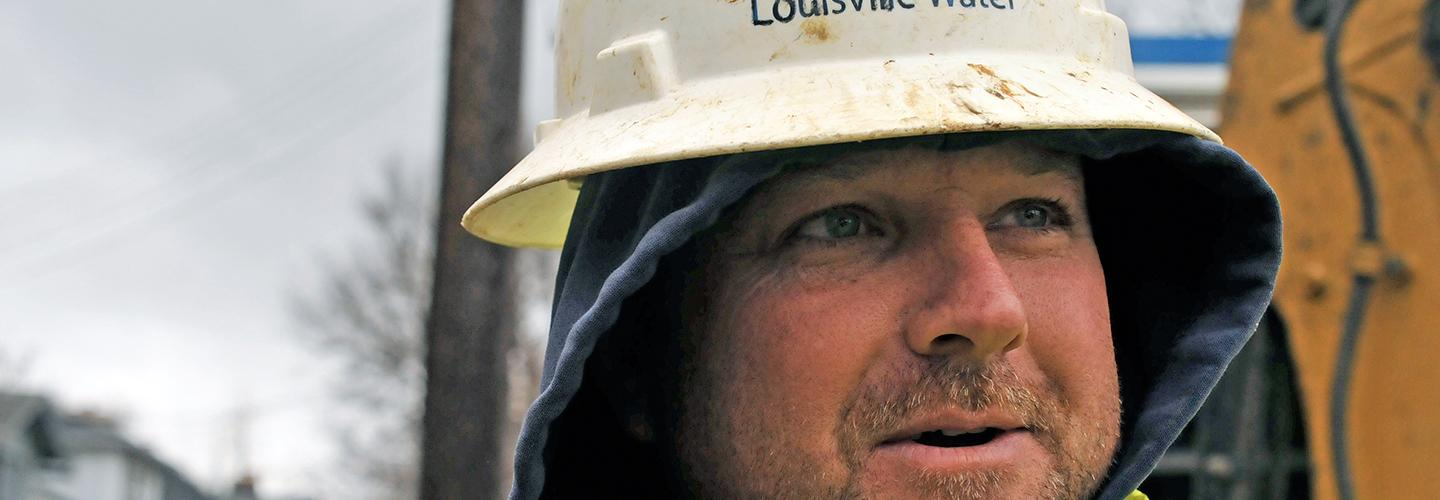 Identifying a Louisville Water Employee