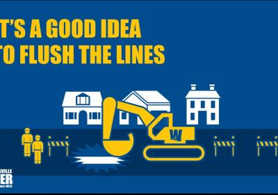 How to flush your water lines