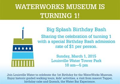 Louisville Water Tower Park and WaterWorks Museum Turn 1!