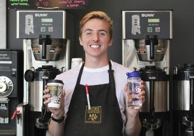 Heine Brothers' offers free pure tap water bottles