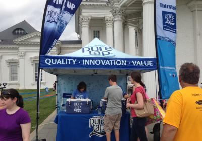 LIBA partners with Louisville Water to make the Buy Local Fair more environmentally responsible