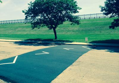 New Speed Humps along Reservoir Ave Help Control Speeding