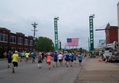 Louisville Water and LG&E partnership shines for KDF race