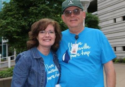 Louisville Water Couple Work Water Stop for 6th Year