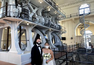 Bride's fairy-tale dreams come true at Louisville Water Tower Park