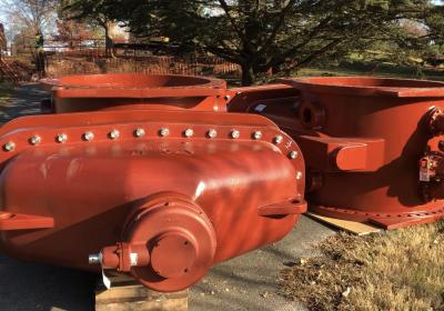 15-ton valves installed near Seneca Golf Course