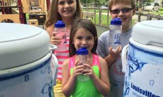 Half a million people hydrated through Louisville pure tap® to GO stations