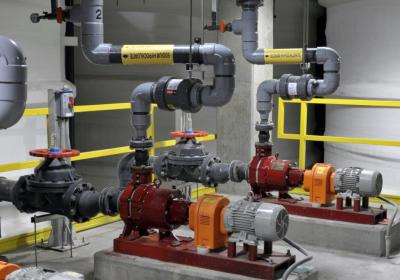 Safety Improvements at Both Water Treatment Plants