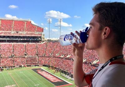 Louisville pure tap® helps Cardinals go green