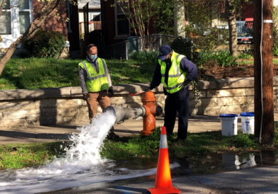 Spring hydrant flushing helps maintain water quality