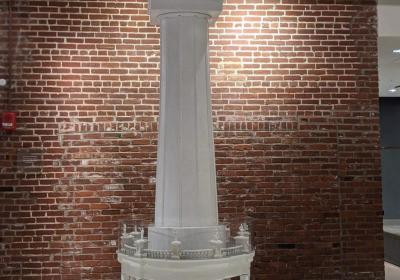 Water Tower replica finds new home at Frazier Museum