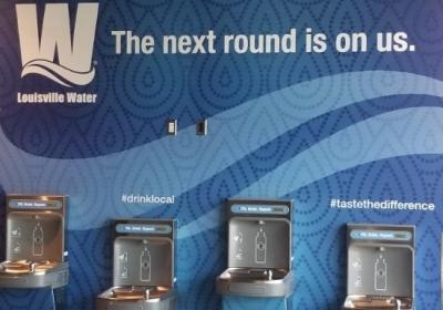 Deck the walls with Louisville pure tap® fountains