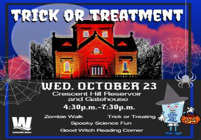 Trick or Treatment sweetens family fun at the Reservoir